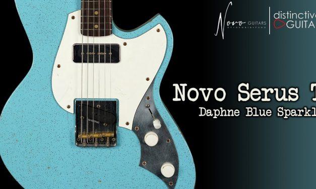 Novo Serus T | Daphne Blue Silvertone Sparkle