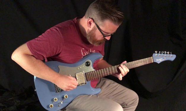 Ronin Custom Electric Guitar at Guitar Gallery