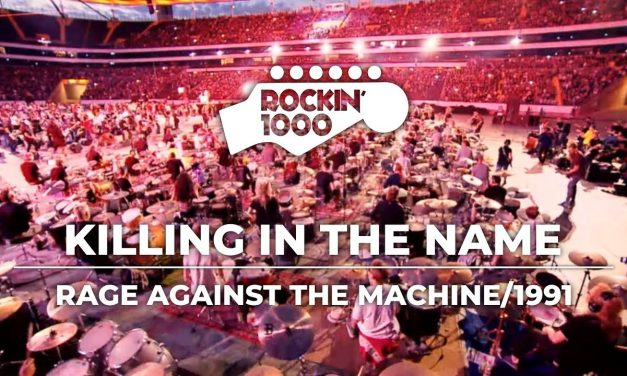 Killing In The Name – Rage Against The Machine / Rockin'1000 in Frankfurt