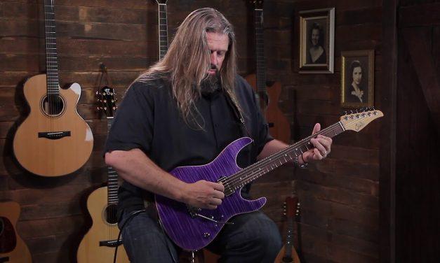 Suhr Eddie's Guitars Exclusive Roasted Modern – Trans Purple