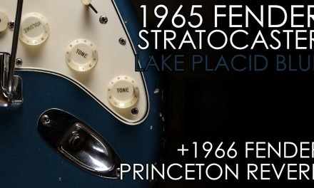 """Pick of the Day"" – 1965 Fender Strat LPB and 1966 Princeton Reverb"