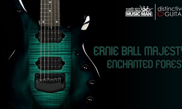 Ernie Ball Music Man Majesty | Enchanted Forest Green