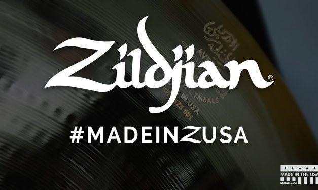 How A Zildjian Cymbal Is Made – #MADEINZUSA