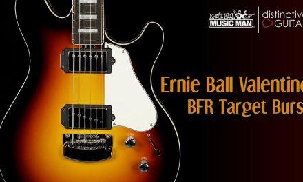 Ernie Ball Music Man Valentine BFR | Target Burst
