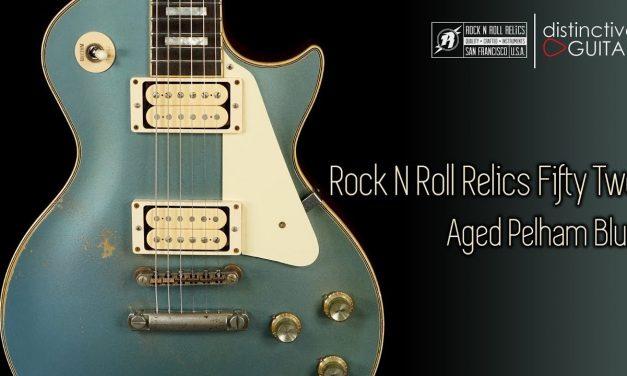 Rock N Roll Relics Fifty-Two Heartbreaker | Aged Pelham Blue