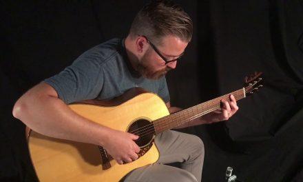 Laurent Brondel D-1c Koa Guitar at Guitar Gallery