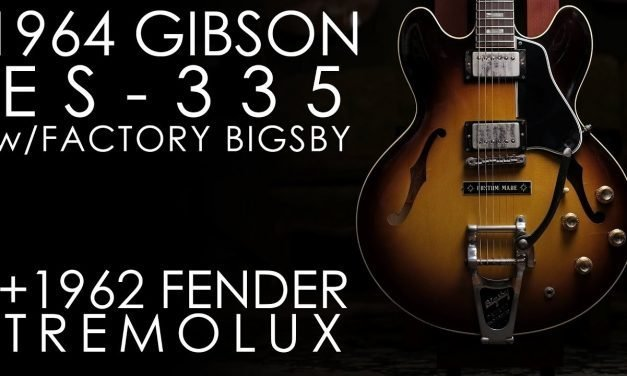 """Pick of the Day"" – 1964 Gibson ES-335 and 1962 Fender Tremolux"