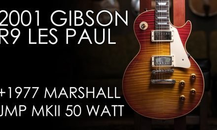 """Pick of the Day"" – 2001 Gibson R9 and 1977 Marshall JMP MKII 50 Watt"