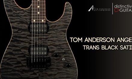 Tom Anderson Angel | Trans Black Satin