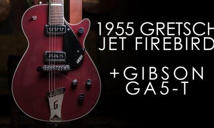 """Pick of the Day"" – 1955 Gretsch Jet Firebird and 1960s Gibson GA5 T Skylark"