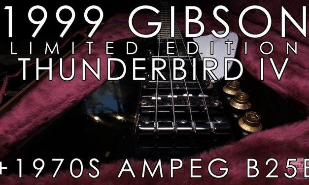 """""""Pick of the Day"""" – 1999 Gibson Thunderbird IV and 1970s Ampeg B25B"""