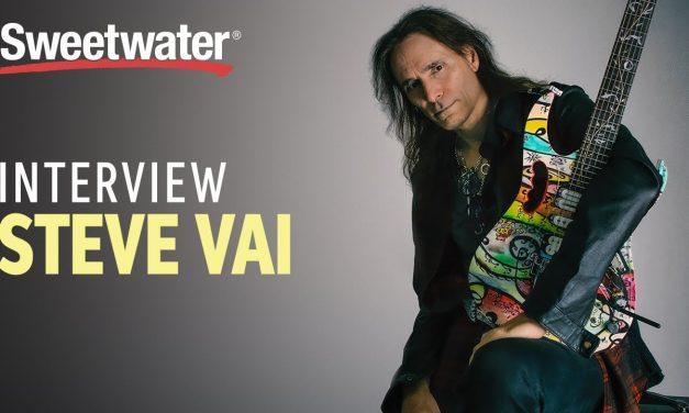 Steve Vai Interview