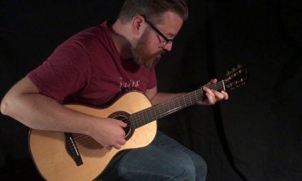 Wingert Cowboy Parlor Guitar at Guitar Gallery