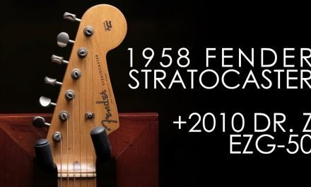 """Pick of the Day"" – 1958 Fender Stratocaster and Dr. Z EZG-50"