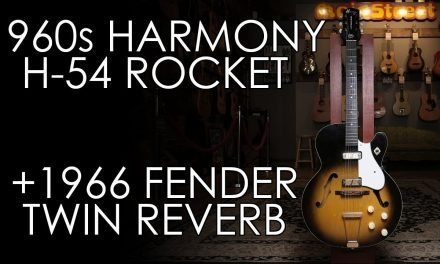 """Pick of the Day"" – 1960s Harmony H54 Rocket and 1966 Fender Twin Reverb"