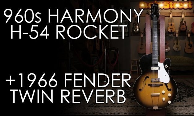 """""""Pick of the Day"""" – 1960s Harmony H54 Rocket and 1966 Fender Twin Reverb"""