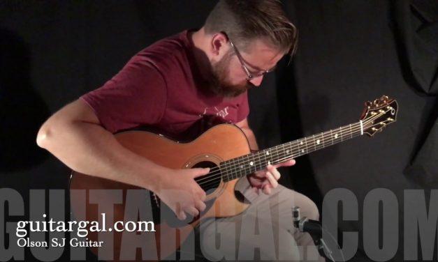 James Olson SJ cutaway Guitar at Guitar Gallery