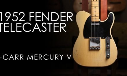 """Pick of the Day"" – 1952 Fender Telecaster and Carr Mercury V"