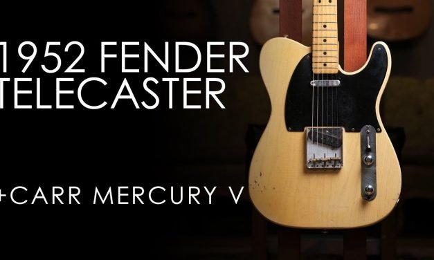 """""""Pick of the Day"""" – 1952 Fender Telecaster and Carr Mercury V"""