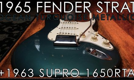 """Pick of the Day"" – 1965 Fender Stratocaster Ocean Turquoise and 1963 Supro 1650RTA"