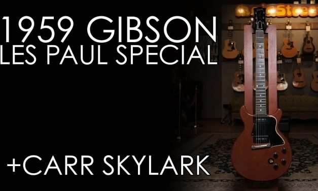 """""""Pick of the Day"""" – 1959 Gibson Les Paul Special and Carr Skylark"""