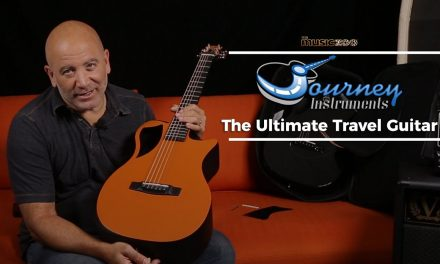 The Best Travel Guitar – Checking Out The Journey Instruments OF660 at The Music Zoo