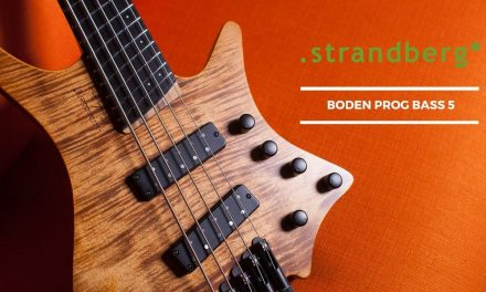 Demo of the Strandberg Boden Prog Bass 5 At The Music Zoo!