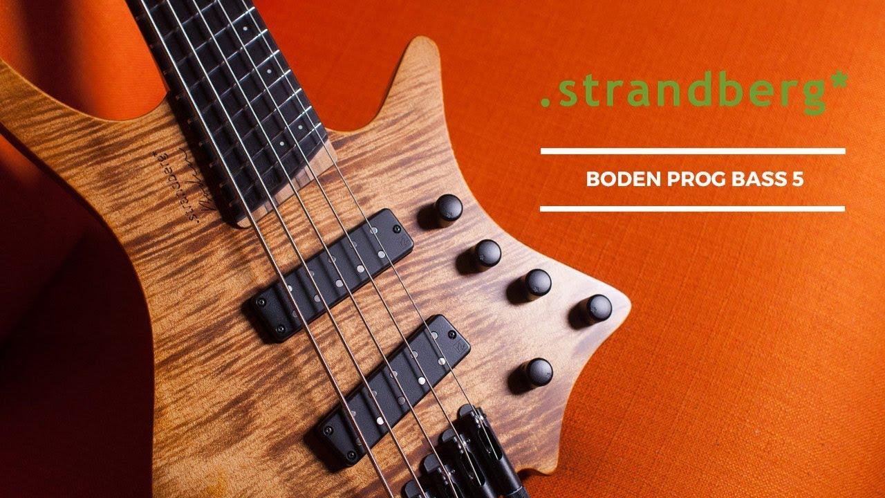 Demo of the Strandberg Boden Prog Bass 5 At The Music Zoo!
