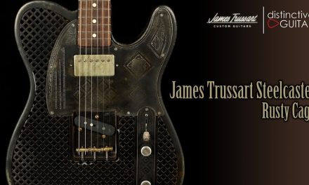 James Trussart Steelcaster | Rusty Cage