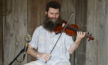 """Aaron Jonah Lewis, """"Dry & Dusty"""" Live at Elderly Instruments"""