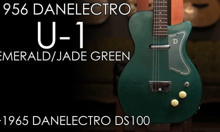 """Pick of the Day"" – 1956 Danelectro U-1 and 1965 Danelectro DS100"