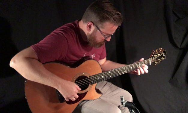 Olson SJc Guitar with Cedar Top at Guitar Gallery