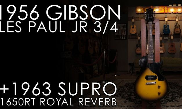 """""""Pick of the Day"""" – 1956 Gibson Les Paul Jr and 1963 Supro 1650RT"""