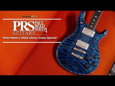 PRS Wood Library Guitars – What Makes Them So Special?