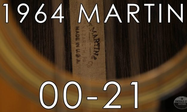 """""""Pick of the Day"""" – 1964 Martin 00-21"""