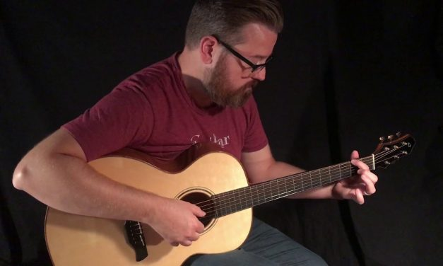 Bryan Galloup Hybrid Guitar at Guitar Gallery
