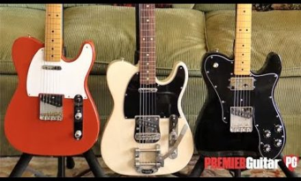 First Look – Fender Vintera '50s, '60s & '70s Telecasters