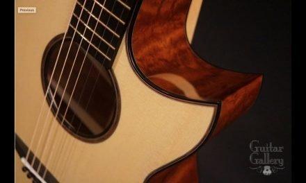 Rasmussen model C TREE Mahogany Guitar at Guitar Gallery