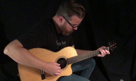 Laurent Brondel B-3c Guitar at Guitar Gallery