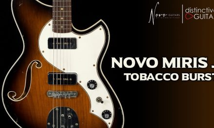 Novo Miris J Semi Hollow | Tobacco Burst