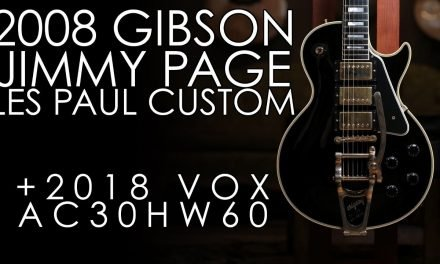 """Pick of the Day"" – 2008 Gibson Jimmy Page Les Paul Custom and 2018 Vox AC30HW60"