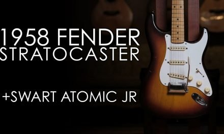 """""""Pick of the Day"""" – 1958 Fender Stratocaster and Swart Atomic Jr"""
