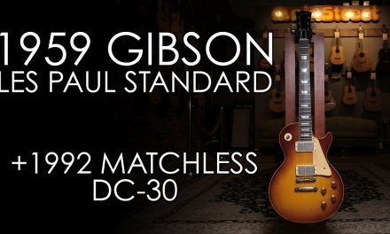 """Pick of the Day"" – 1959 Gibson Les Paul Standard and 1992 Matchless DC-30"
