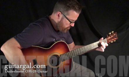 Dudenbostel Brazilian Rosewood OM Guitar at Guitar Gallery
