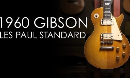 """""""Pick of the Day"""" – 1960 Gibson Les Paul Standard"""