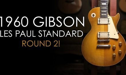 """Pick of the Day"" – 1960 Gibson Les Paul Standard Round 2!"