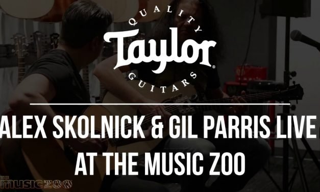 Alex Skolnick and Gil Parris Live with Taylor Guitars at The Music Zoo!