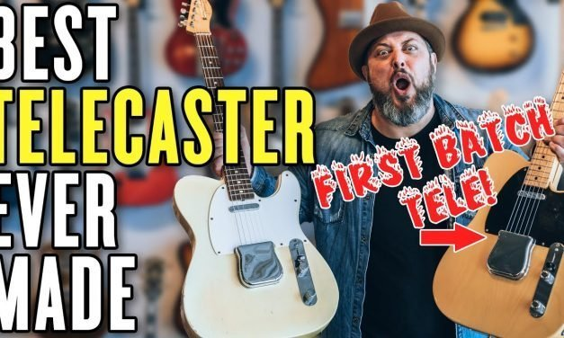 I Played One of The First Telecasters Ever Made!