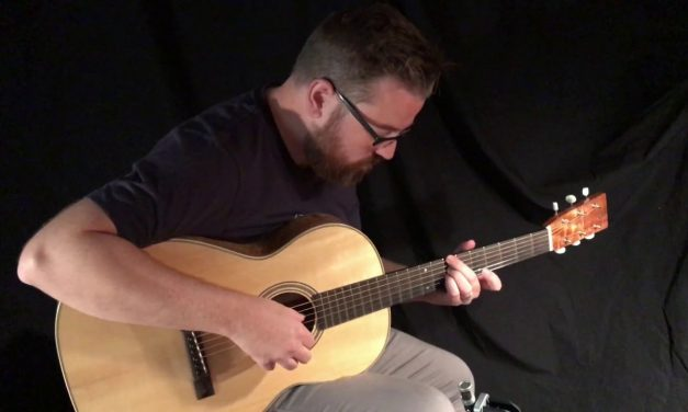 Bruce Sexauer Koa 000 Guitar at Guitar Gallery