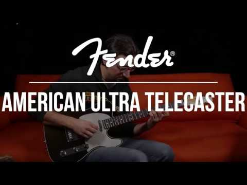 See and Hear the Fender American Ultra Telecaster at The Music Zoo!